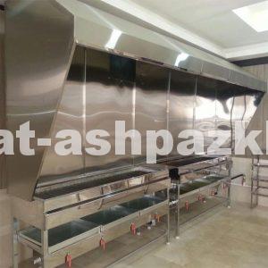 کباب پز گازی ۲ متری